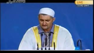 Arabic Qaseedha at 44th Jalsa UK 2010 Last Session MTAOne(19).3gp