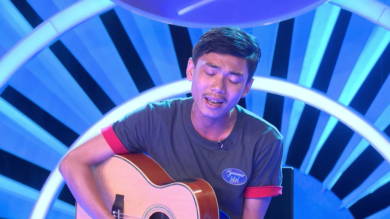 Tan Khun Kyaw Myanmar Idol Season 4 2019 Mandalay Episode 2