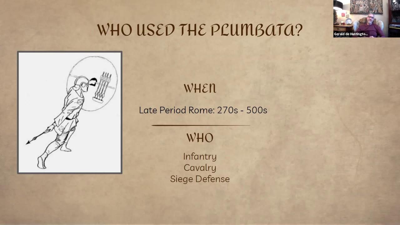 Online Class - The Plumbata