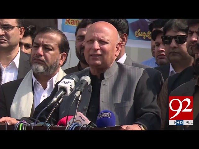 Pakistan to give befitting response to India: Sarwar | 23 February 2019 | 92NewsHD