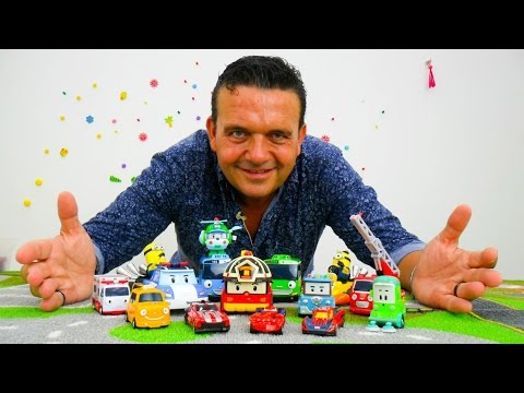 Vídeo de juguetes para niños. Coches infantiles. Autobuses Tayo.