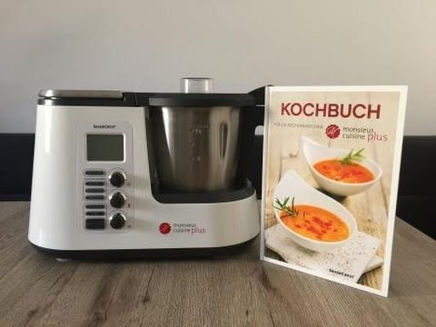 Monsieur cuisine plus exclusives video vorstellung der for Robot menager monsieur cuisine plus