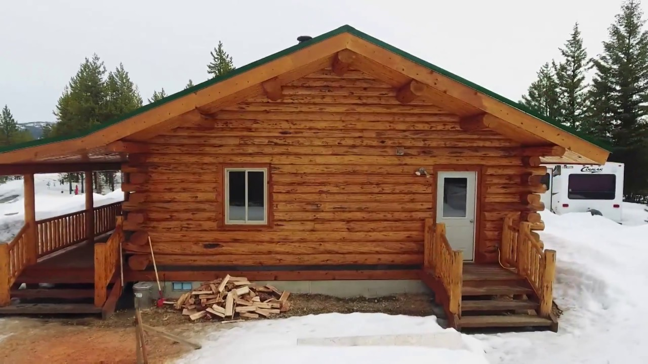 Medium Log Cabin Meadowlark Rancher Youtube