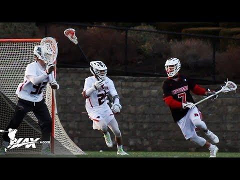 Rutgers Univ.  Vs Brown Univ.  | 2018 College Highlights