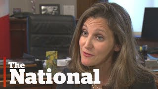 Chrystia Freeland says it's time for Canada to step up