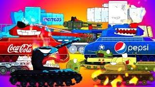 TOP 15 mini series - Cartoons about tanks
