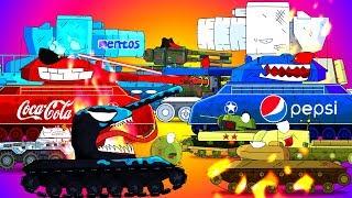 ТОП 15 мини серий - Мультики про танки