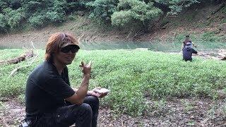レイラ✨七川ダム オカッパリ❗️ジョイクロ8でドン💥
