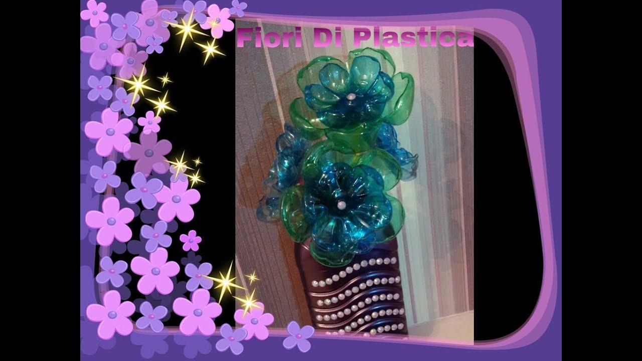 Diy fiori con le bottiglie di plastica come riciclare le bottiglie di plastica youtube - Armadietto plastica per esterno ...