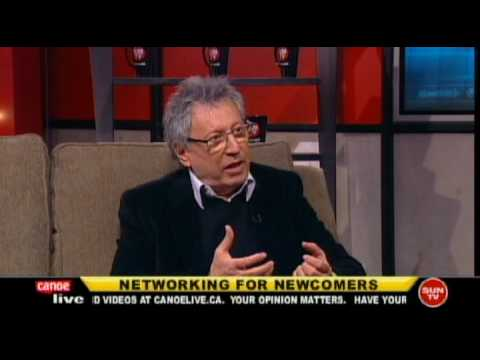 """David Cohen, interview on Canoe Live """"Networking for ..."""