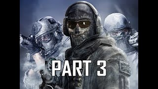 Call of Duty Modern Warfare 2 Remastered Walkthrough Gameplay Part 3 - Wolverines!