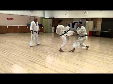 Jiyu Kumite Drill 3