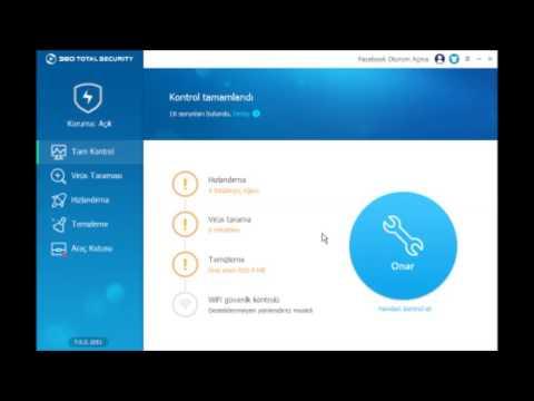 360 Total Securıty kurulum ve kullanımı