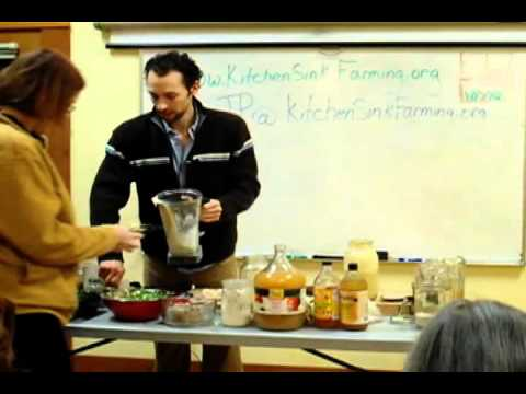 """""""Easy Advanced Sprouting and Fermenting"""" by Jean-Pierre Parent, KitchenSinkFarming.org"""