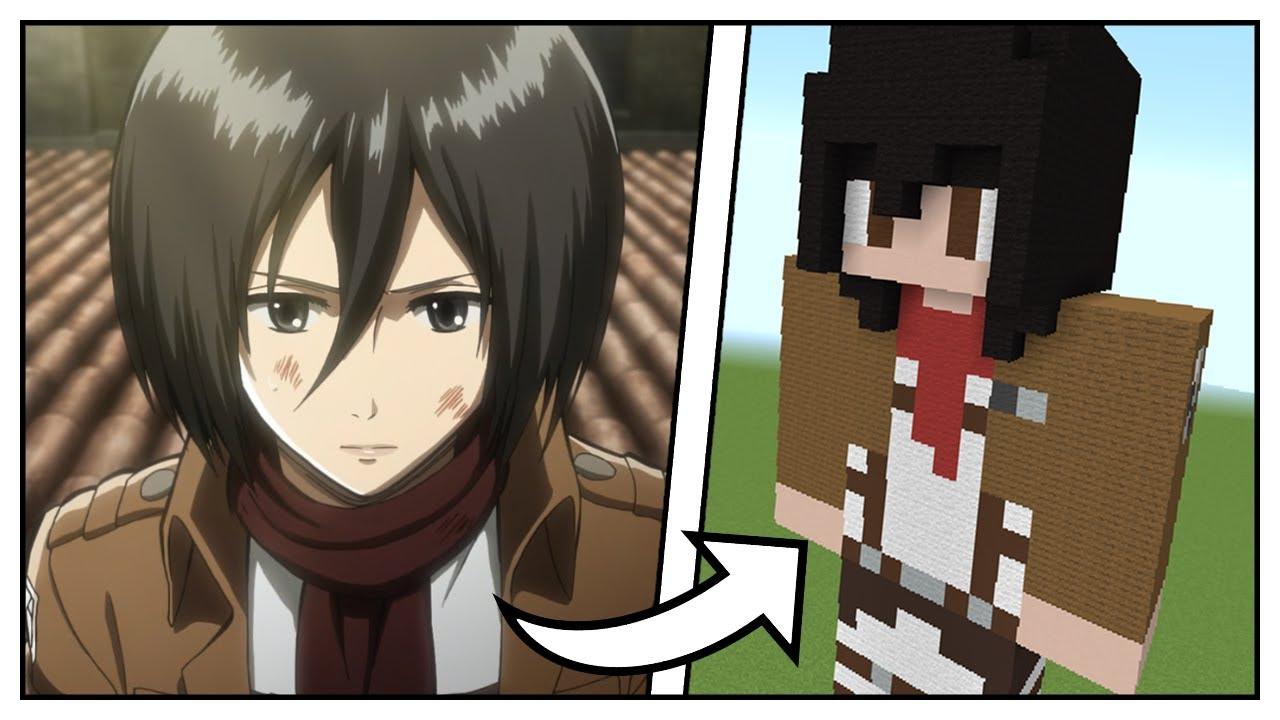 Skin (Mikasa/shingeki no kyojin/Attack On Titan)PixelArt