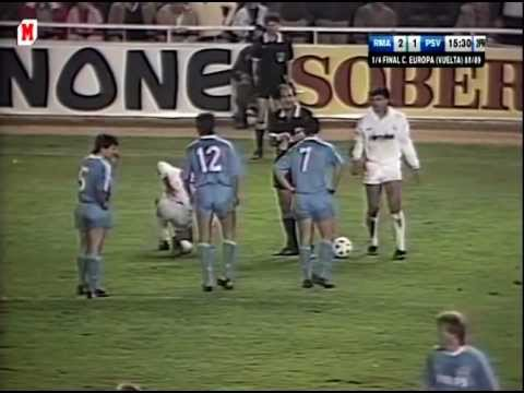 Copa de Europa 1989 - Real Madrid-PSV Eindhoven 3/3