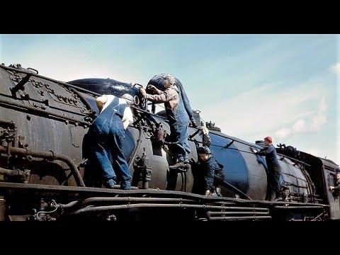 Santa Fe Railroad Loaded For War