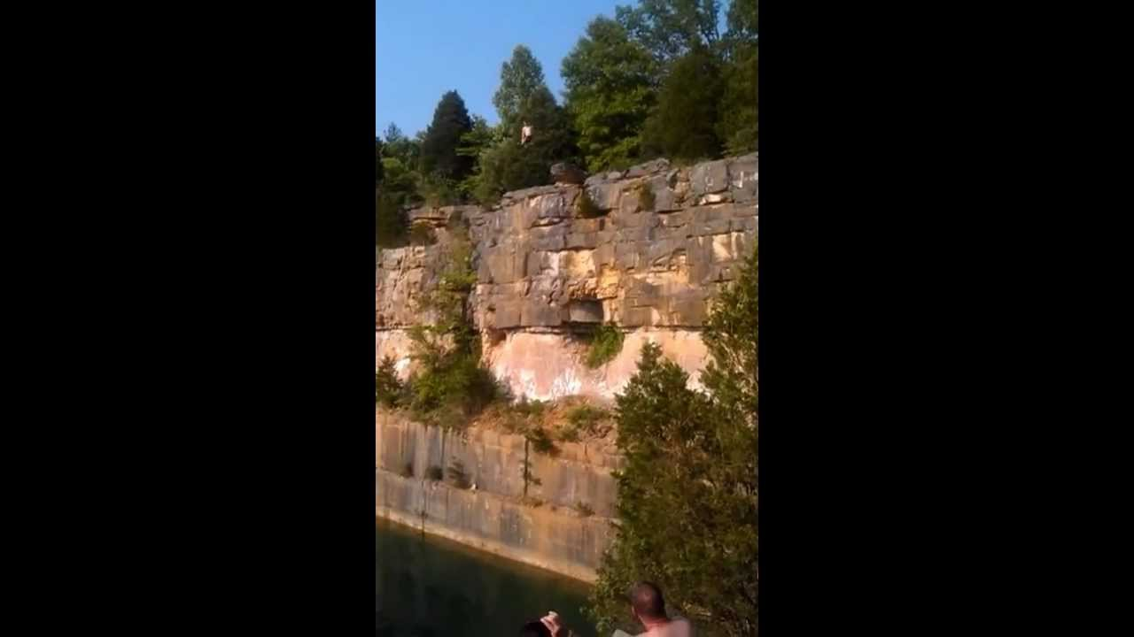 Logan Broadbent Jumps From The Top Of Rooftop Quarry