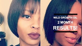 Natural Hair Growth Update 💕 Wild Growth Hair Oil Review