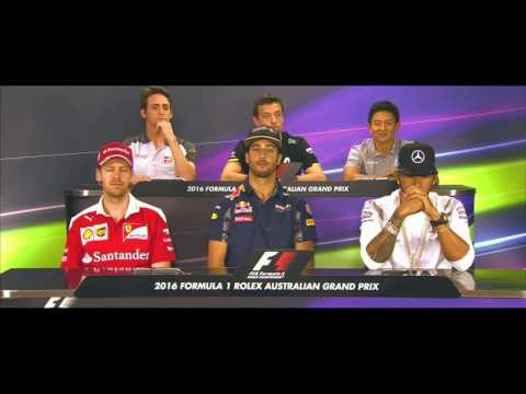 F1 2016 Australian GP Press Conference