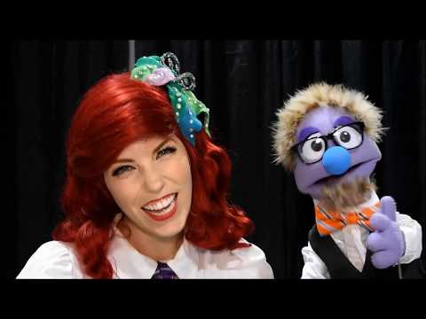 That time Cosplayer Ali Williams Went Under the Sea with a Puppet