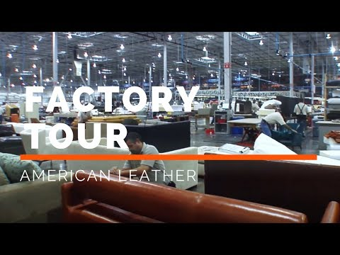 American Leather Factory Tour