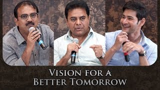 Vision For Better Tomorrow | Mahesh Babu, KTR &...