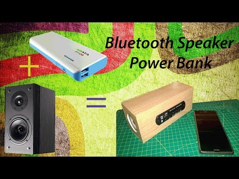 How to make a Bluetooth speaker power bank || DIY || Boar Hat