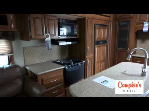Campkin's Presents 2016 Crusader 294RLT - Auto Leveling,  Quiet A/C, Large Kitchen