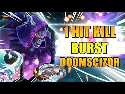 1 HIT KILL Doomscizor D2 VS Luinor L2 [Beyblade Burst App]
