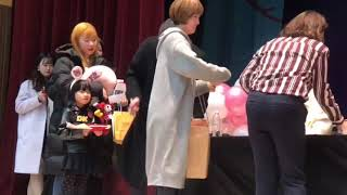 Mina first fansign with #iKON 20180204