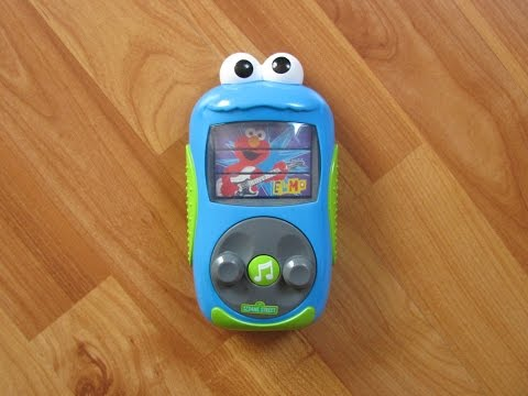 """Sesame Street Cookie Monster's MP3 """"Player"""" Interactive Musical Toy"""
