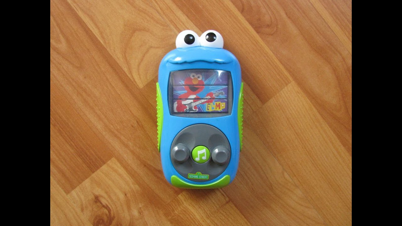 Sesame Street Musical Toys : Sesame street cookie monster s mp quot player interactive