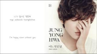 Download Jung Yong Hwa- Without You (니가 없어도) [English Subs + Hangul + Romanization]