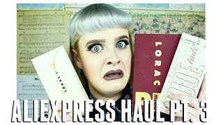 Part 3 out of 3 AliExpress Haul! // Makeup & Lashes  |  Gabi Bailey