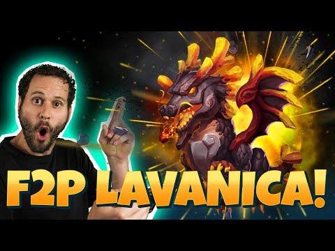 F2P Gets Lavanica! Impressive Account Castle Clash