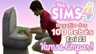 CASA IMUNDA! ♥ Desafio dos 100 Bebês #25 ♥ The Sims 4 | Gameplay Lalaland
