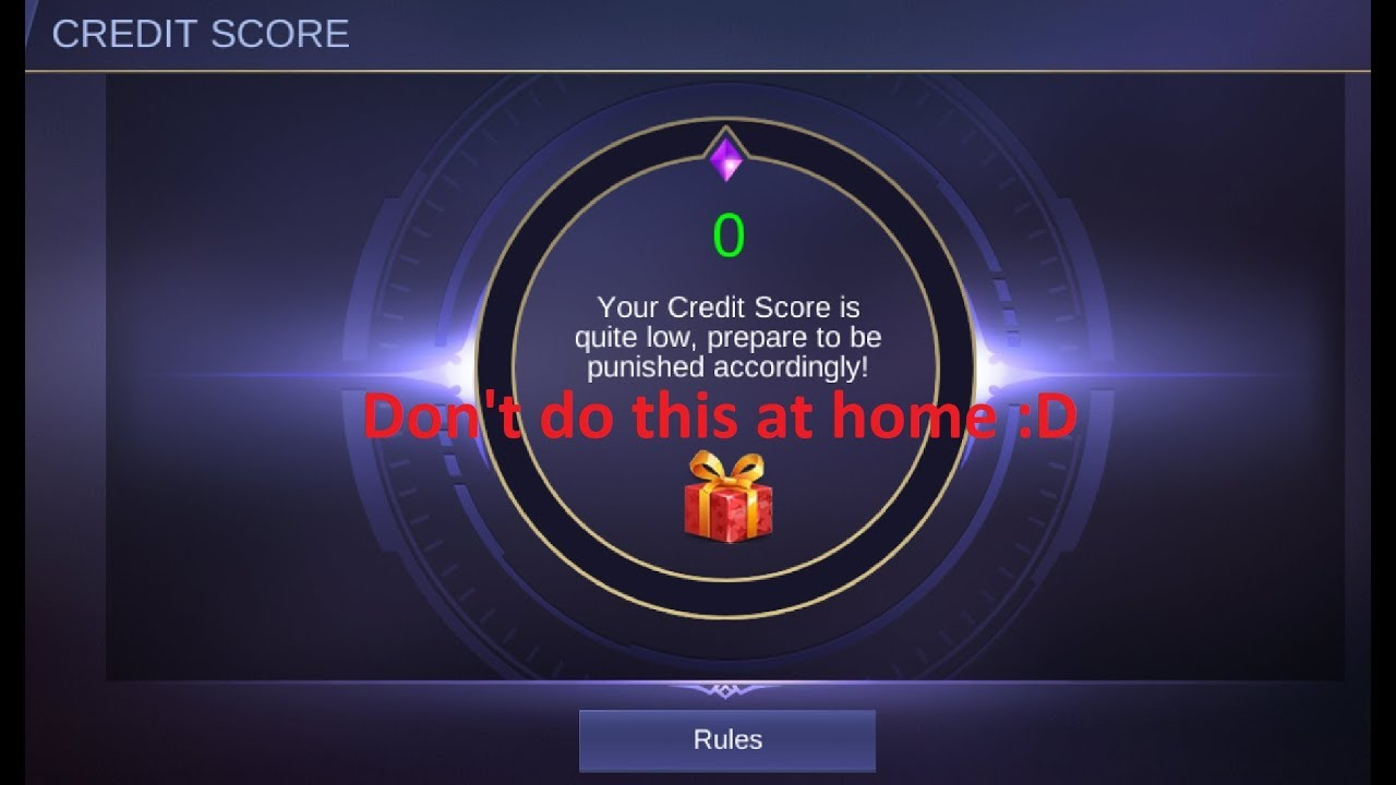 How to increase credit score fast mobile legends