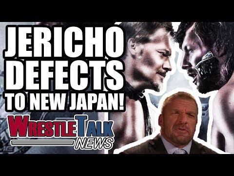 Chris Jericho HEAT With WWE?! DEFECTS To NEW JAPAN! | WrestleTalk News Nov. 2017