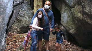 Macaquinhos, Floresta e Esconderijo dos Indígenas