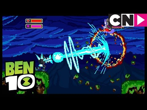 NEW Ben 10 | Shock Rock Gets Stuck Inside A Videogame | Xingo's Back | Cartoon Network