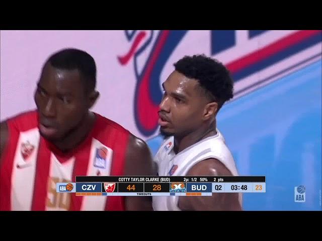 ABA Liga 2018/19 highlights, Finals, Round 2: Crvena zvezda mts - Budućnost VOLI (14.4.2019)