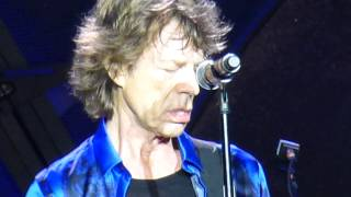 "Rolling Stones ""Moonlight Mile"" Minneapolis,Mn 6/3/15 HD"
