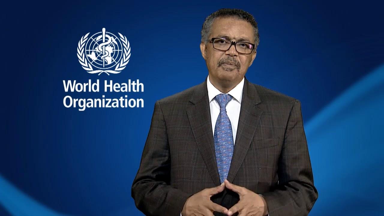 DR Tedros Adhanom Ghebreyesus - World Conference - Croix-Rouge ...