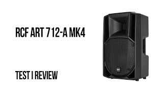 RCF ART 712-A MK4 - Test i review