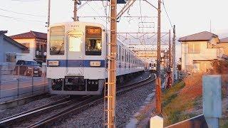 【8000型】東武越生線  一本松着発④