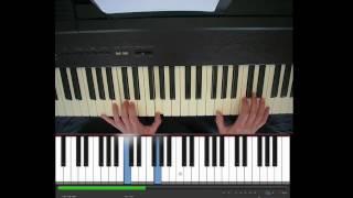 Sinterklaas, Zie ginds komt de stoomboot, piano