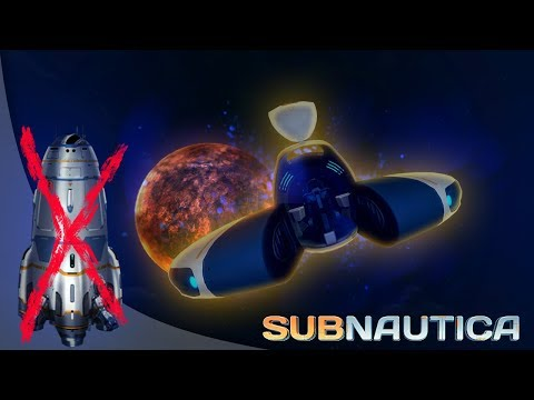 Subnautica - The Seamoth Was Updated To Be A SPACESHIP! Do We Still Need The Rocket? - Gameplay
