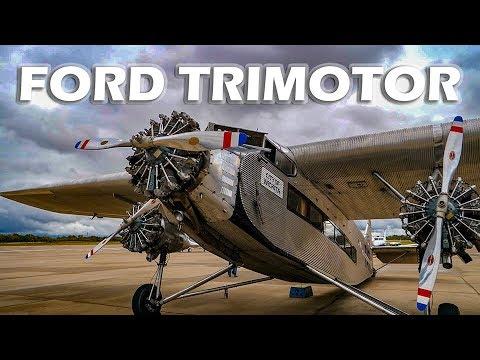 Ford Trimotor Flight & Pilot Interview