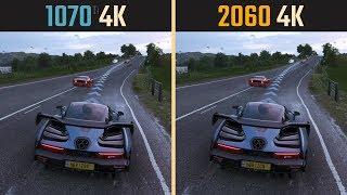 RTX 2060 vs. GTX 1070 Ti 4K 2160p (Performance Comparison)